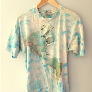 Vintage World Map Shirt